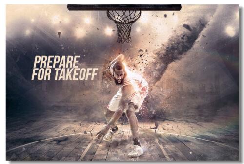 James Harden Basketball Star Room Club Art Wall Cloth Poster Print 508