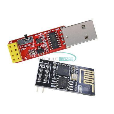 USB to ESP8266 ESP-01//01S Serial Wireless Wifi Adapter Module CH340G Driver