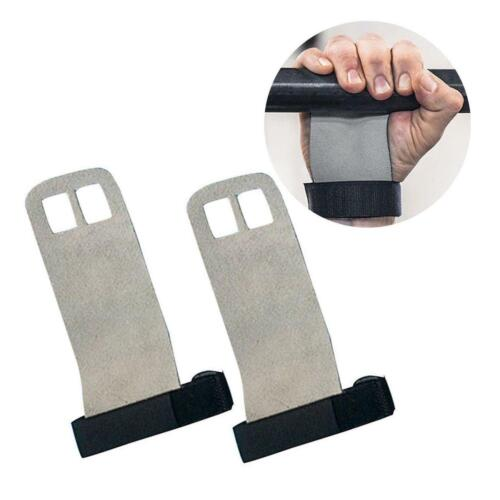 Crossfit Gym Training Protective Leather Palm Protector Grip Pull Up Hand Guards