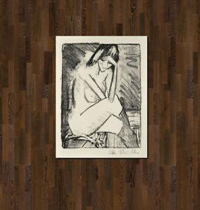 Otto Mueller-sede fine in Calzini - 1924
