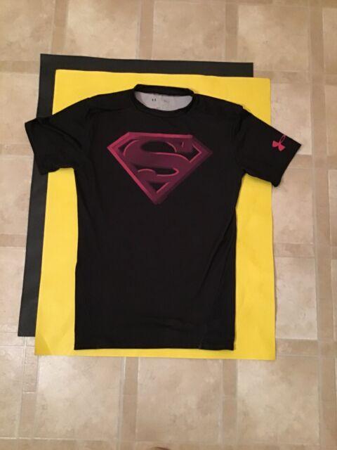 Under Armour Mens Football Compression 5 Pad Alter Ego Batman Shirt Size M BNWT