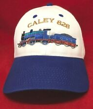 Caley 828 Train Railway Steam Locomotive Embroidered  Baseball Hat Cap