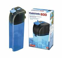 Penn Plax Cascade 600 Submersible Aquarium Filter Cleans Up To ... Free Shipping