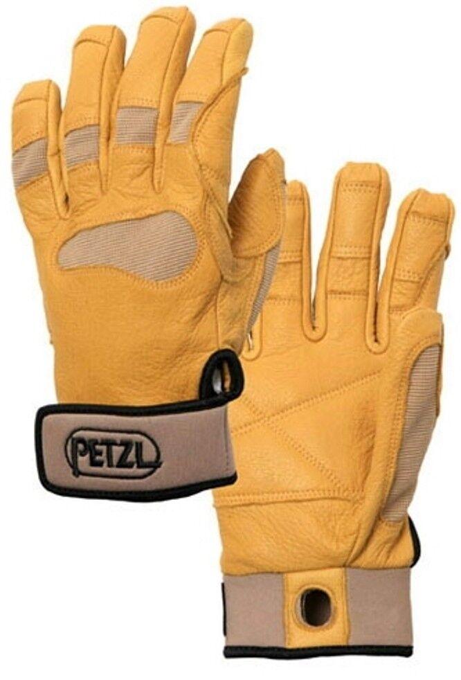 Petzl Petzl Petzl Cordex Plus Belay Rappel Gants Travail Protection des mains d'escalade (tan) ecb36a