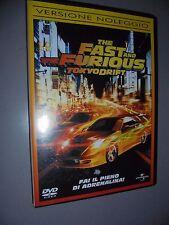 DVD FAST AND FURIOUS TOKYO DRIFT VERSIONE NOLEGGIO