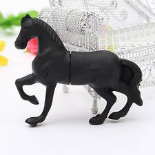 64GB USB 2.0 Black Horse Style Memory Stick Flash Pen Drive Storage Thumb U Disk