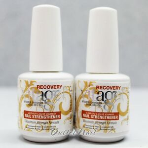 Details about LOT 2 Gelish Harmony VITAGEL RECOVERY Base Coat Vitamin Nail Strengthener #01152