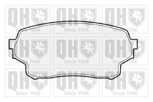 Brake Pads Set fits SUZUKI GRAND VITARA Mk2 2.0 Front 05 to 15 J20A QH Quality
