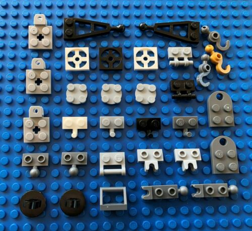 Lego TRAILER SPARES city star wars castle pirates hooks hook pins crane tow ball