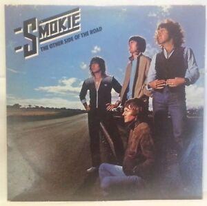 SMOKIE-vintage-vinyl-LP-The-Other-Side-Of-The-Road-w-sleeve-amp-lyrics