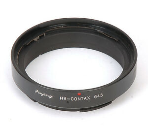 Hasselblad-Objektiv-Fuer-Contax-645-Adapter-Kamera-Zubehoer-NEU