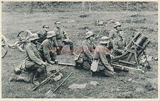 AK, Foto, Reichsheer - mittlerer Minenwerfer im Einsatz; 5026-64