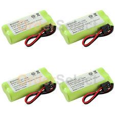 4x Home Phone Battery Pack 350mAh NiCd for Uniden BT-1008 BT1008 BT-1016 BT1016