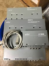 3 Old School ADS 642CSI Crossover-Signal Processor-interface Adapter,Rare