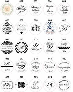 wedding invitation envelope white sticker seals monogram ebay