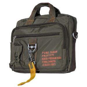 9ac09da50d24f Das Bild wird geladen Handtasche-Schultergurt-gross-Karabinerhaken-Tasche- Umhaengetasche-Bag-Nylon-