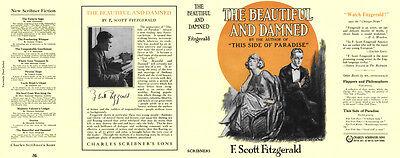 Edition/early Waren Jeder Beschreibung Sind VerfüGbar umschlag Für 1 Fitzgerald Den Wunderbaren Und Damned Faksimile