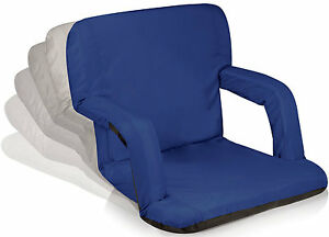 Image Is Loading Portable Reclining Seat Picnic Stadium Chair Folding Adjule