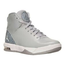 Men's Jordan Air Imminent Off Court Shoes 705077 011 Sizes 8.5-11 Wolf Grey/Whi