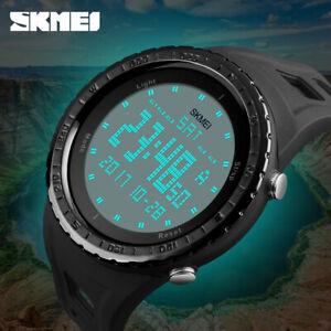 Skmei-hombres-Deporte-Militar-digital-impermeable-LED-reloj-de-pulsera-de-moda