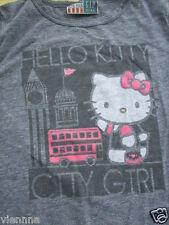 "GAP Shirt Junk Food ""Hello Kitty in London"" grau 164 - 176 langarm GapKids"