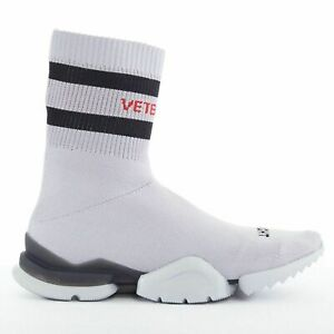 new VETEMENTS REEBOK Sock Runner grey