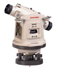 David White Universal Optical Level Transit With Laser Plummet 46 D8872