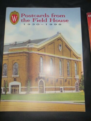 Postcards from University of Wisconsin Field House 19301998 BASKETBALL BADGERS