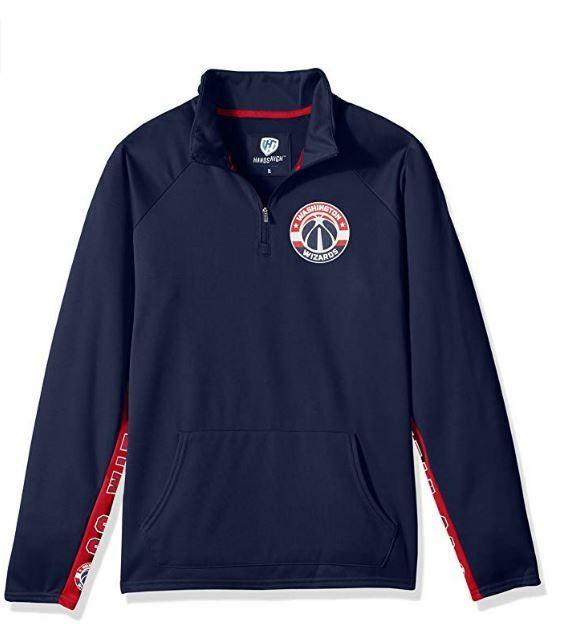 HANDS HIGH DAMEN NBA Washington Zauberer Langärmeliges Sweatshirt Jacke Größe M