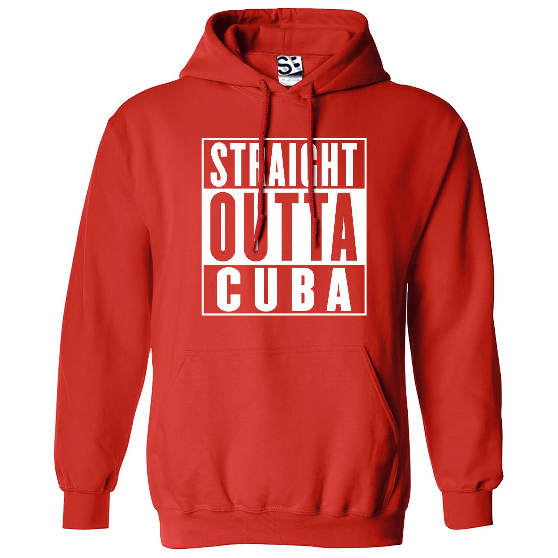Straight Outta Cuba HOODIE Rep Yo City Hood Movie Parody Hooded Sweatshirt