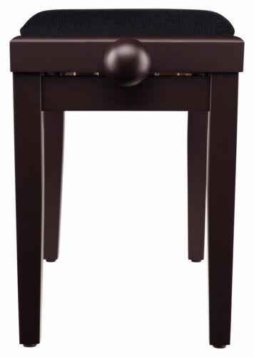 Super Pianositzbank Klavierbank in hübscher Rosenholz Optik vom Fachhandel