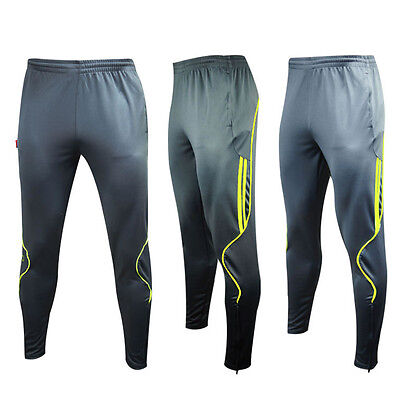 Fashion Men's Sport Athletic Soccer Football Fitness Training Sweat Casual Pants