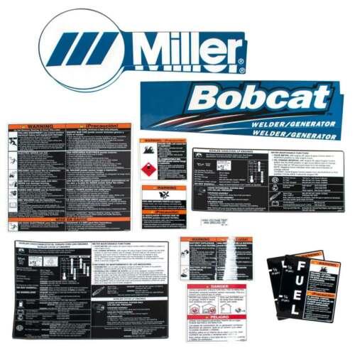 Miller 228122 Label Kit for Bobcat 250