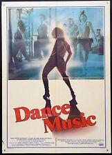 MANIFESTO, DANCE MUSIC di V. DESISTI, M.C.MASTRANGELI, MUSICALE, POSTER AFFICHE