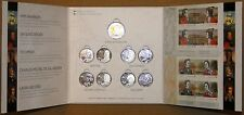 Canada 2012/13 War of 1812 super stamp coin folder set $2,8x25c,2 plate blocks
