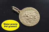 St Michael / San Miguel Arcangel De Oro En 14k Garantizado Grabado Gratis 2610