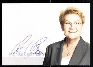 Original, Nicht Zertifiziert Sinnvoll Monika Bachmann Autogrammkarte Original Signiert## Bc 6017 äSthetisches Aussehen Sammeln & Seltenes