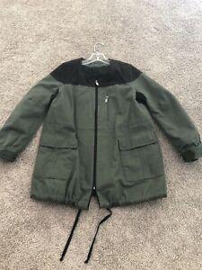 Zara-Woman-bk-olive-Canvas-Jacket-CB-309