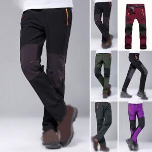 Uomo-Impermeabile-Caldo-Pantaloni-Outdoor-Trekking-Campeggio-Sci-Snowboard-Neve
