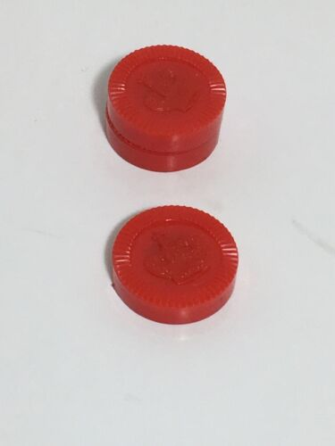 3 Replacement Checker Travel Magnetic Red Game Pieces
