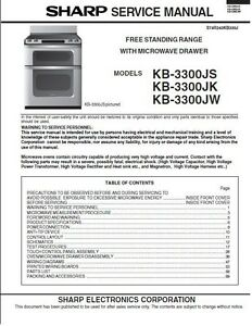 repair manual sharp microwave oven your choice of 1 manual models rh ebay com sharp microwave manual pdf sharp microwave manual r-1850a