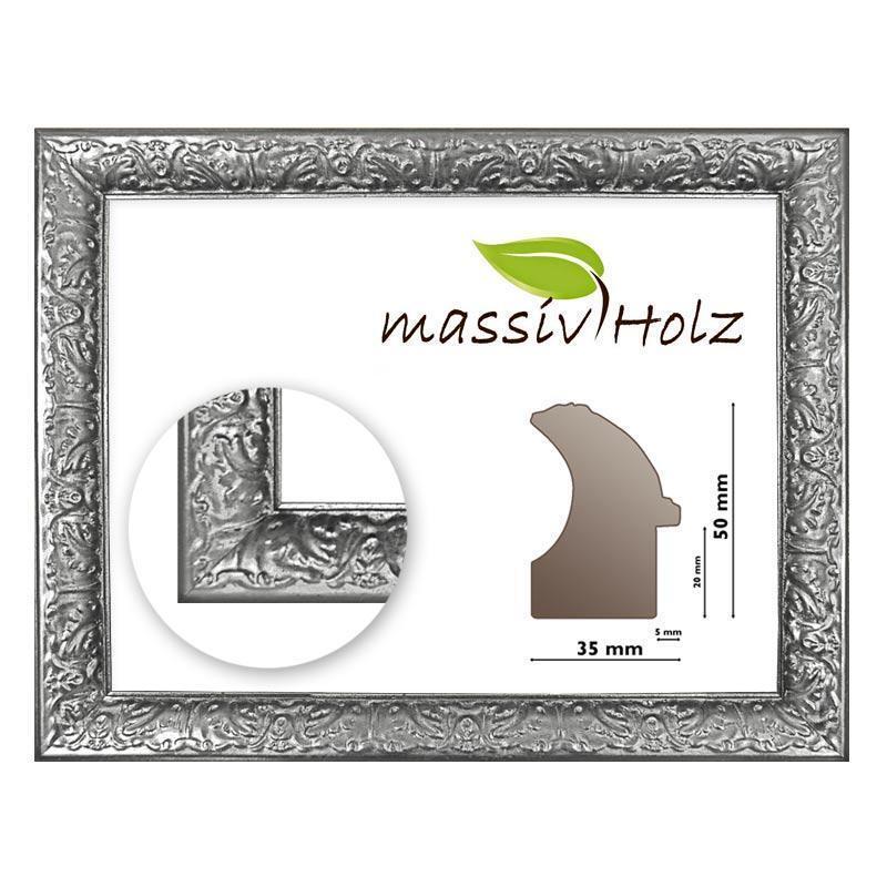 Cornice BAROCCO ba1084 argentoo, decorato, argentoo, quadro telaio in legno legno legno argentoo e63cb9