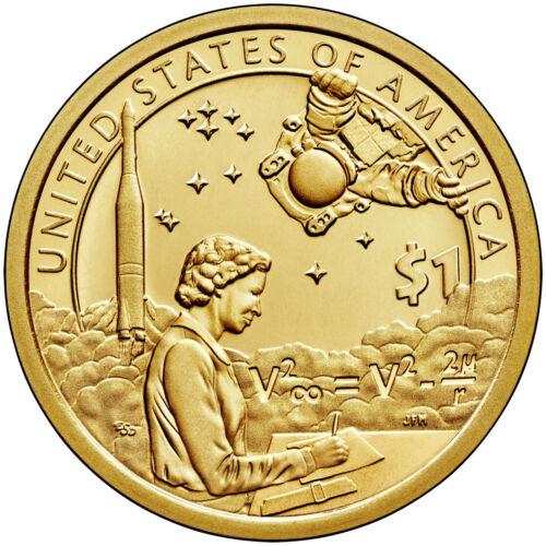 2019-D BU Native American Sacagawea Dollar