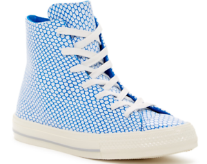 NEW CONVERSE ALL STAR HI SNEAKER SHOES WOMENS 6.5 GEMMA HI BLUE FREE SHIP