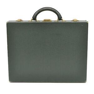 Authentic-Louis-Vuitton-Taiga-Leather-Briefcase-Hand-Bag-Case-Diplomat-Esepia-LV