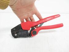 Molex 640010800c Rht 5760 Hand Crimp Tool Ratchet 22 18 Awg 64001 0800