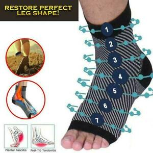 Dr-Sock-Soothers-Anti-Fatigue-Compression-Foot-Sleeve-Sock-Brace-Support-Be-G1Q3