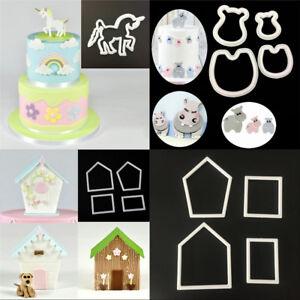 Sugar-DecoratingPlunger-Cutter-Mold-set-Various-Cookie-Fondant-Schokolade-NEU