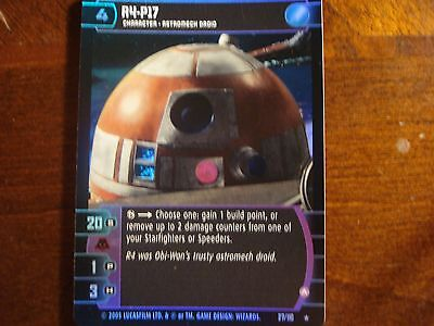 A FOIL 27//110 Star Wars TCG ROTS R4-P17