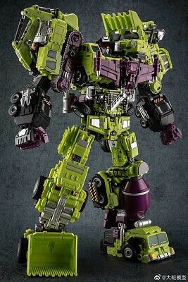 Toy Decepticons Combiner devastator NBK Brand GT KO Transformer